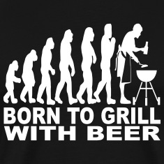 born to grill with beer T-Shirts