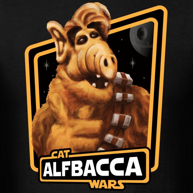 Alfbacca: Cat Wars Tee