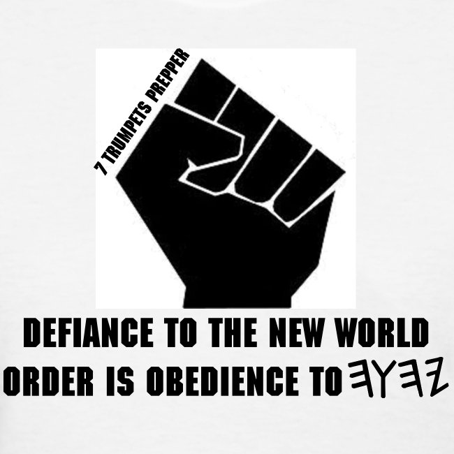 Defiance to NWO (White tee only) (Ladies)