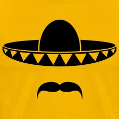 Sombrero with a beard from Mexico Shirt