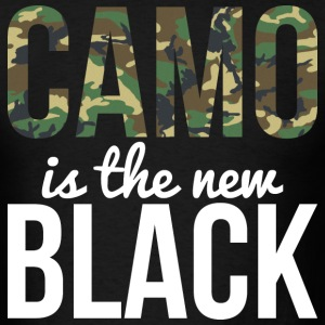 Camo Is The New Black - Country Closet T-Shirts - Men's T-Shirt