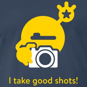I take good shots - Men's Premium T-Shirt