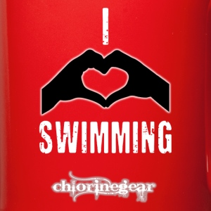 I heart swimming Mugs & Drinkware - Full Color Mug