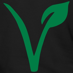 Vegetarian symbol Zip Hoodies & Jackets - Men's Zip Hoodie