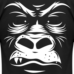 Gorilla Shirt - Graphic on Back - Men's T-Shirt by American Apparel