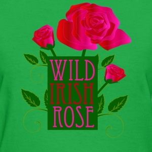 Wild irish Rose St Patricks Day - Women's T-Shirt