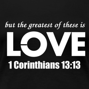 Greatest Love2.png Women's T-Shirts - Women's Premium T-Shirt