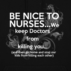 nice nurses Hoodies