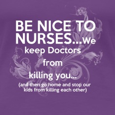 nice nurses Women's T-Shirts