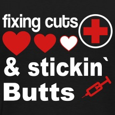 fixing cuts T-Shirts