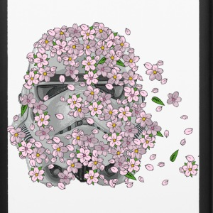 Stormtrooper Helmet with Cherry Blossoms 1 Accessories - iPhone 6/6s Rubber Case
