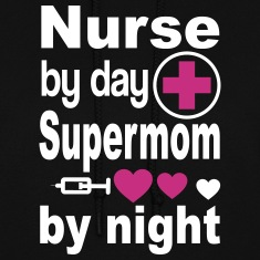 Nurse Supermom Hoodies