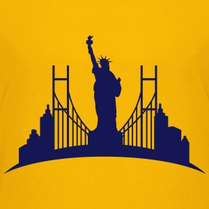 Liberty_statue_New_York_0 Kids' Shirts - Kids' Premium T-Shirt
