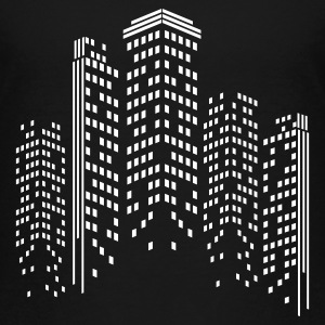 City Skyline by Night Kids' Shirts - Kids' Premium T-Shirt