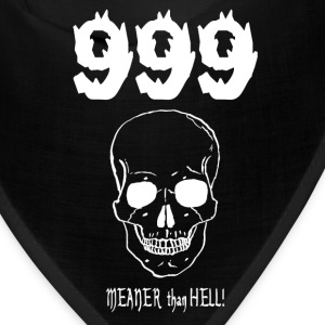 999....MEANER than HELL! (for dark items) Caps - Bandana