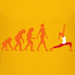evolution_yoga_woman_022015_a_3c Kids' Shirts - Kids' Premium T-Shirt