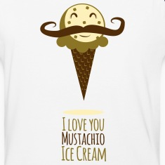 I Love You Mustachio Ice Cream!