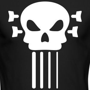 Bass guitar and skull Long Sleeve Shirts - Men's Long Sleeve T-Shirt by Next Level