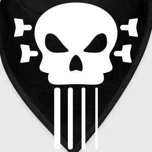 Bass guitar and skull Caps - Bandana