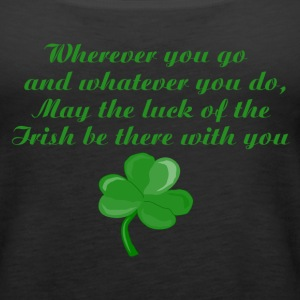 Irish Poem Tank Top - Women's Premium Tank Top