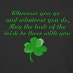Irish Poem Shirt - Baseball T-Shirt