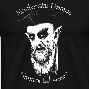 NosferatuDamus by Tai's Tees - Men's Premium T-Shirt
