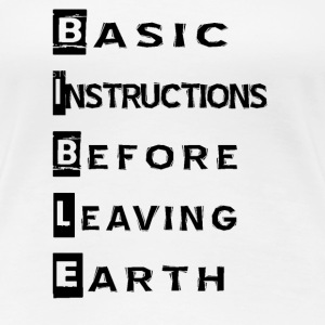 Basic Instructions - Women's Premium T-Shirt