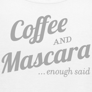 Coffee and Mascara - Women's Flowy Tank Top by Bella