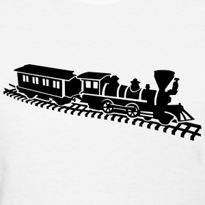 Model railroad Women's T-Shirts - Women's T-Shirt