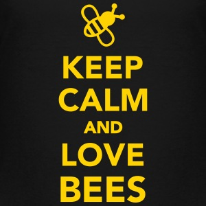 Keep calm and love Bees Kids' Shirts - Kids' Premium T-Shirt