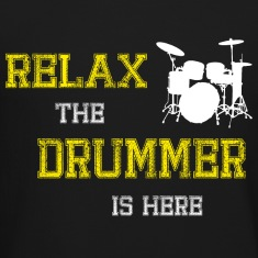 Relax Drummer Long Sleeve Shirts