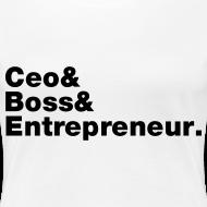 Design ~ Ceo & Boss & Entrepreneur