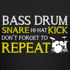 Bass Drum Repeat Long Sleeve Shirts
