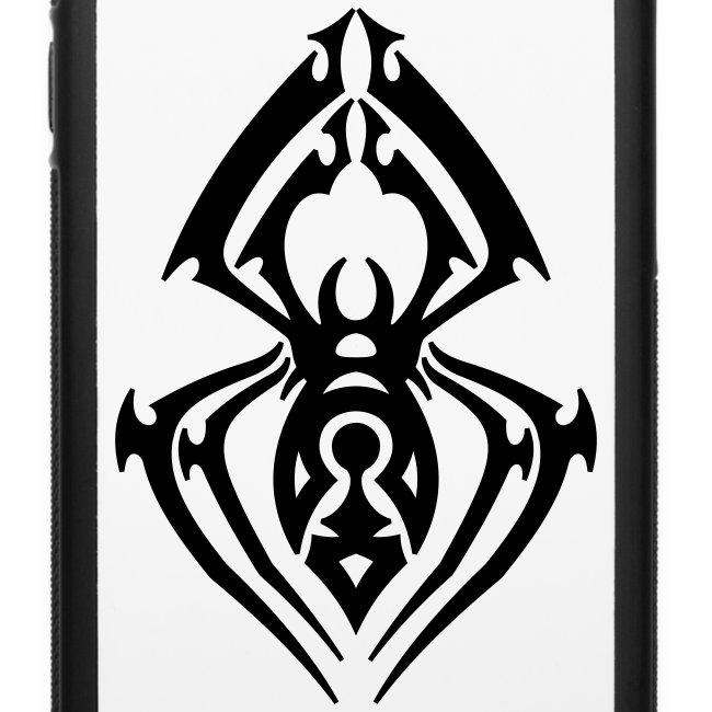 37e852751 CRMN   Spider Tribal Tattoo 2 - iPhone 66s Rubber Case
