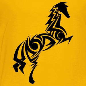 Horse Tribal Tattoo 1 Kids' Shirts - Kids' Premium T-Shirt