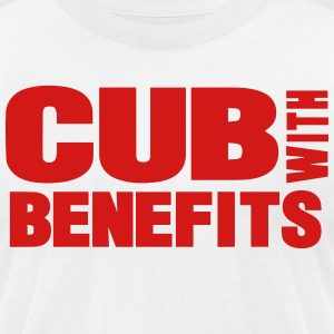 CUB WITH BENEFITS T-Shirts - Men's T-Shirt by American Apparel