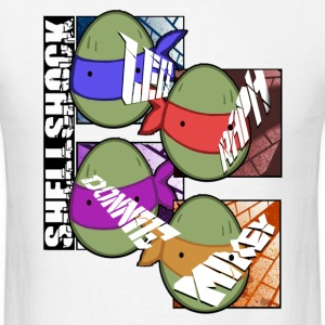 Shellshock Turtles T-Shirts - Men's T-Shirt
