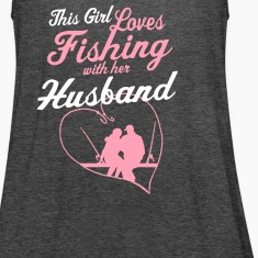 Fishing With Her Husband - Country Closet Tanks