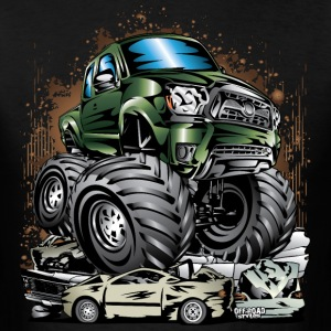 Monster Truck Tacoma T-Shirts - Men's T-Shirt