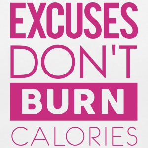 Excuses Dont Gym Motivation Women's T-Shirts - Women's V-Neck T-Shirt