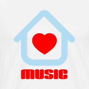 Love House Music T-Shirts - Men's Premium T-Shirt