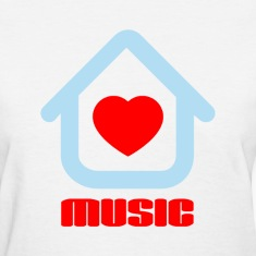 Love House Music Women's T-Shirts