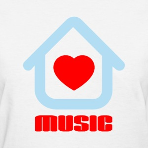 Love House Music Women's T-Shirts - Women's T-Shirt