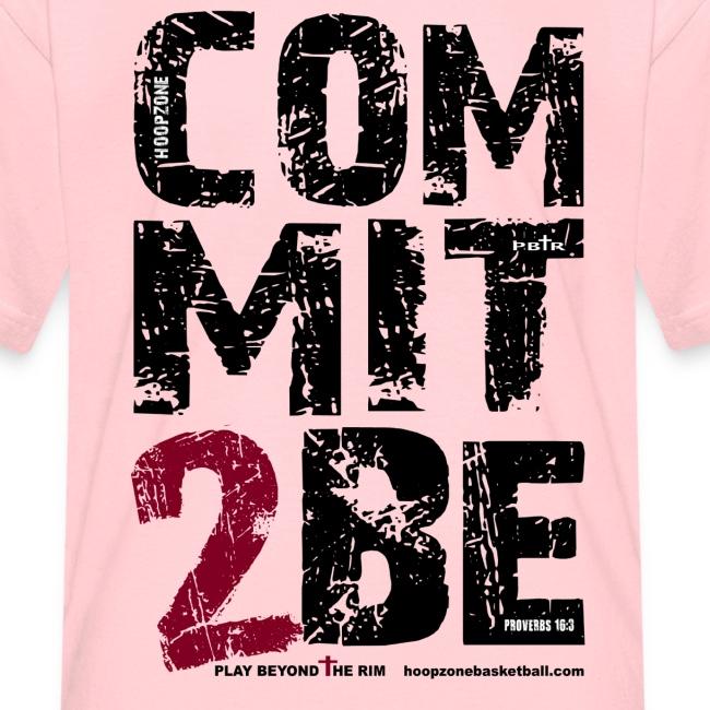 COMMIT2BE Kids w/dark art