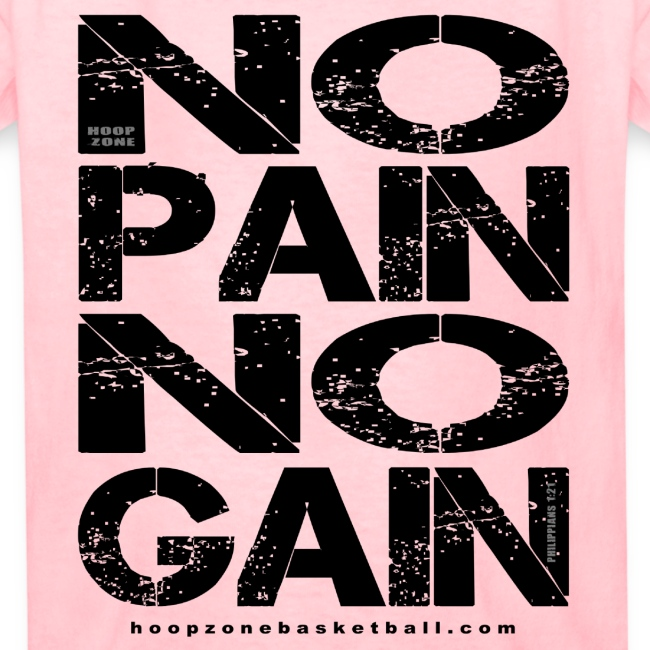 No Pain No Gain w/dark art