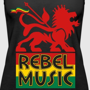 Rebel Music Tanks - Women's Premium Tank Top