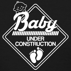 Baby under construction Women's T-Shirts - Women's T-Shirt