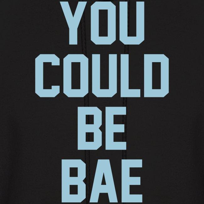 Bae Hoodie Black-Blue