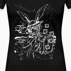 Down The Rabbit Hole White Women's T-Shirts