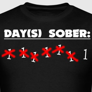 Days Sober - Men's T-Shirt